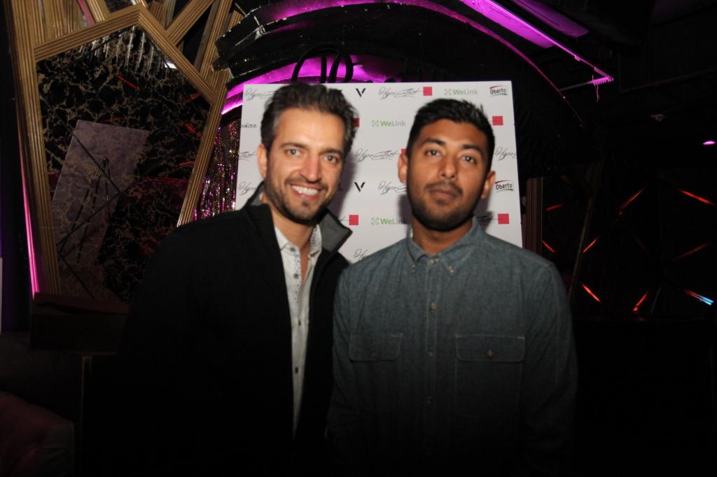 Nathan Chandra and DJ Rush