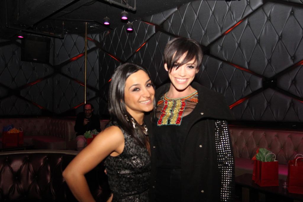 Raha Lewis and Jessica Sutta