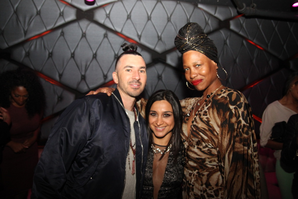 Benny Cassette, Raha Lewis and Shawn Barton